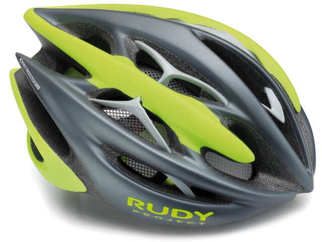Rudy Project Sterling + Fietshelm, titanium - lime fluo matte